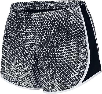 Nike Girl's Dry Micro Master Printed Tempo Shorts
