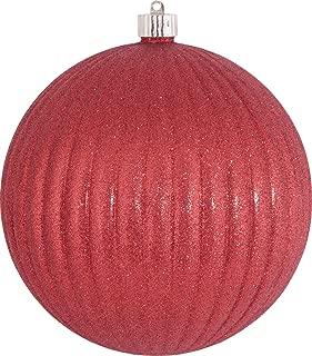 Christmas by Krebs KBX50548 Commercial Grade, UV-Resistant Shatterproof Christmas Ball Ornament, 4-Inch, Azure Blue