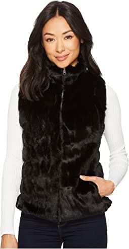 Scully - Colorado Faux Fur Reversible Vest w/ Pockets