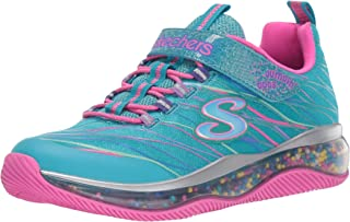 Skechers Unisex-Child Skech-air Jumpin'dots Sneaker