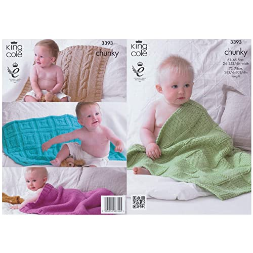 105785c7b7d8 Knitting Pattern for Baby Blanket  Amazon.co.uk