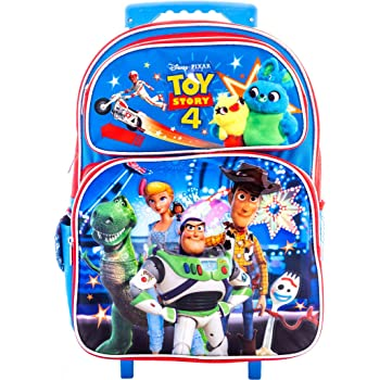 Disney Toy Story Backpack 16 Optional - Depending on Selections Rolling Backpack 16 /& Lunch Bag 8 for Kids