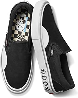 x Independent Slip-On Pro Sneakers (Black/White) Classic Skate Shoes