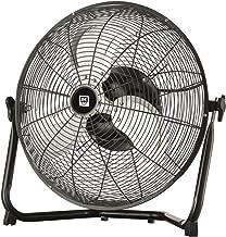SHE Ventilateur sur pied - Diamètre : 45 cm - 3 niveaux - Fonction oscillante - Effet rafraîchissant - 120 W - Inclinable ...