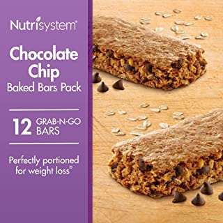 Nutrisystem® Chocolate Chip Baked Bars Pack, 12 Count Bars