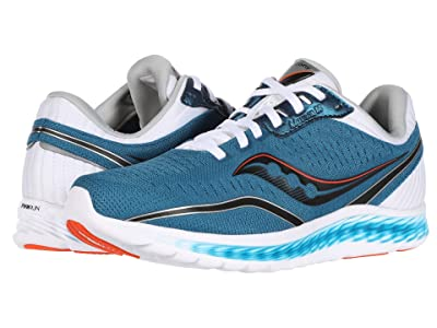 Saucony Kinvara 11 (Blue/Black) Men