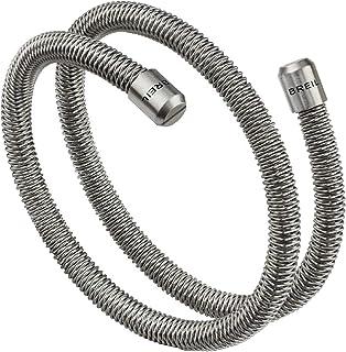 Breil - Bracciale Uomo/Unisex Collezione New Snake - Gioiello Modellabile in Maglia Mesh Metallica di Acciaio Satinato - L...
