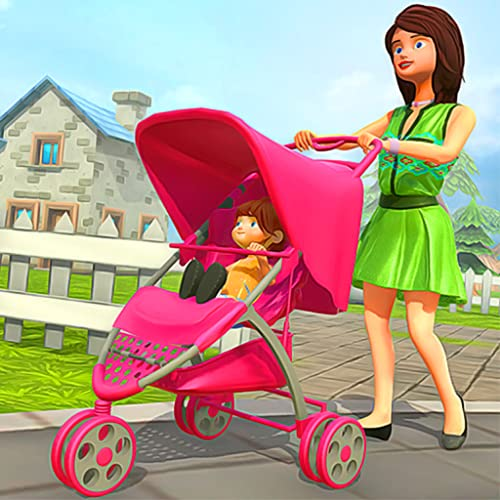 Virtual Happy Family Mother Game: Fun Kids Simulator 2019