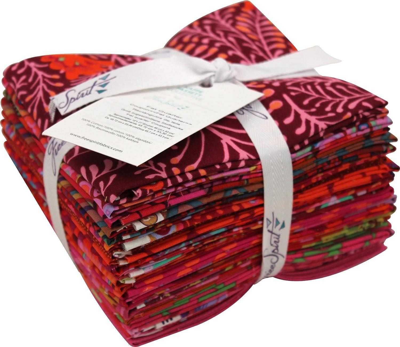 Free Spirit Fabrics 5 ☆ popular Kaffe Fassett Lipstick Max 74% OFF Qua Collective 20 Fat