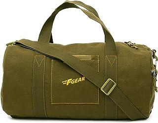 F Gear Army 30 liters Olive Canvas Gym Bag