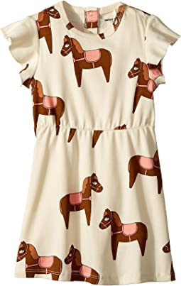 mini rodini Horse Dress (Infant/Toddler/Little Kids/Big Kids)