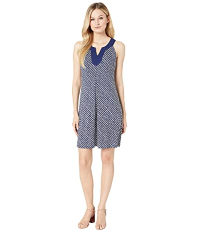 Tommy Bahama Lava Cove Geo Dress (Island Navy) Women