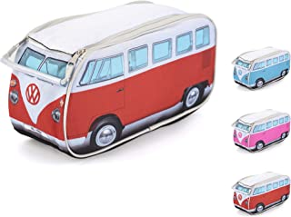 Volkswagen Travel Toiletry Bag - Hanging Cosmetic Makeup Organizer Dopp Kit with Internal Pockets - VW Bus Accessories