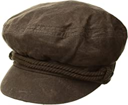 Waxed Cotton Fishermans Cap (Little Kids/Big Kids)
