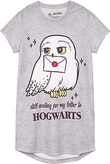 HARRY POTTER Vestido Nocturno Hedwig Hogwarts Niños de Chica Niños Nightgown