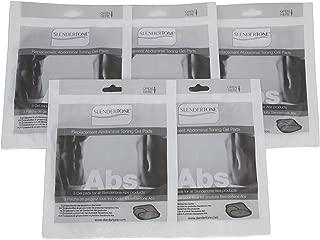 Slendertone Replacement Ab Gel Pads for All Slendertone Abdominal Belts - 5 Sets (15 Single Gel Pads)
