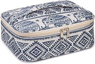 کیف آرایش مسافرتی بزرگ کیف لوازم آرایشی و بهداشتی برای زنان و دختران (فیل)