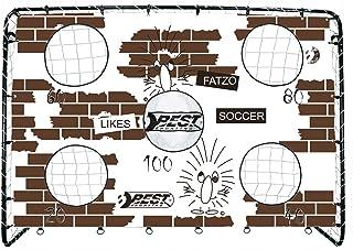 Best Sporting Footballtor Fatze med torvvägg, 213 x 152 cm, fett, inklusive