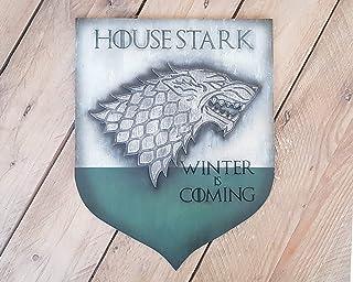 Casa Stark, escudo de Juego de Tronos. Se acerca el Invierno, el Norte Recuerda y siempre debe haber un Stark en Invernalia.