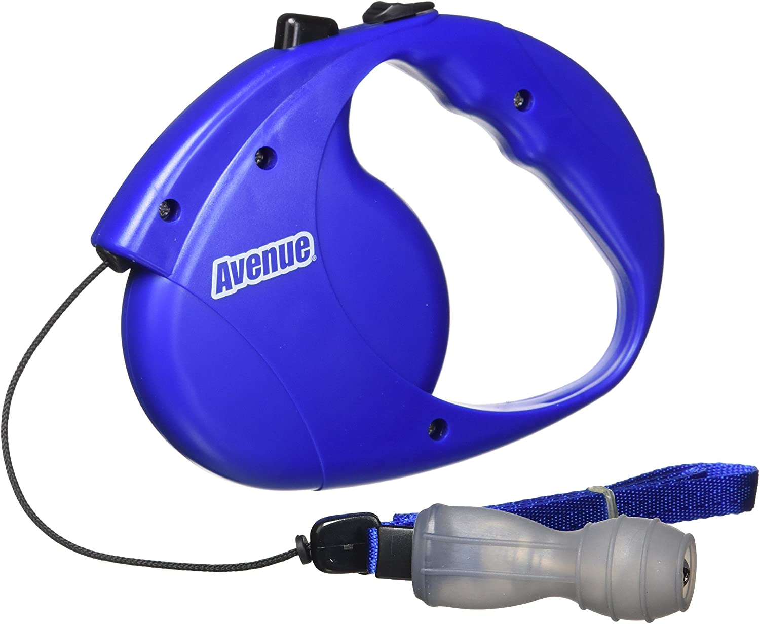 Avenue Retractable Cord Leash for Dogs, bluee, Small, 16Feet