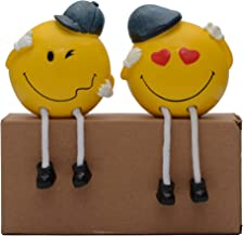 Store2508® Latku Cute Polyresin Hanging Legs Showpiece (Pair)