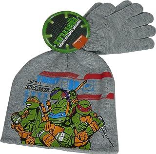 Set van muts en handschoenen voor jongens.