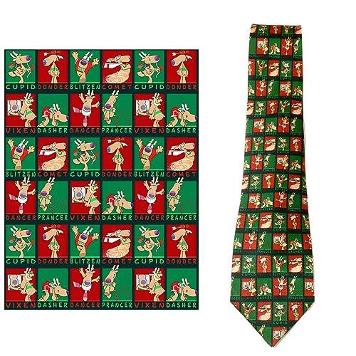 Christmas Tie.Funny Christmas Ties Amazon Com