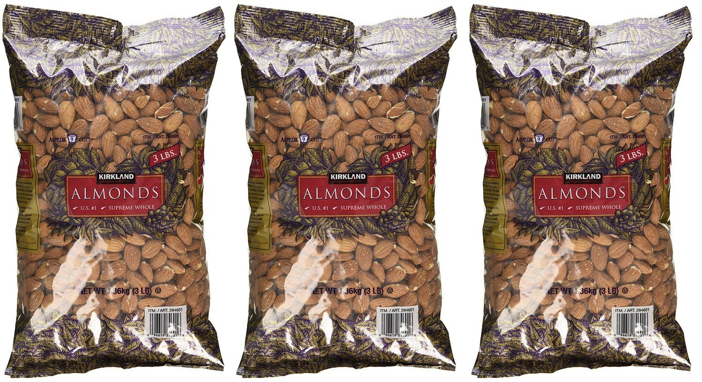Kirkland Signature Supreme Discount is also underway hAfLZ Whole Almonds 3 Sale SALE% OFF Pack o lb bag