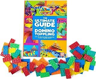 "Bulk Dominoes ""Jumpstarter Ultimate Guide to Domino Toppling 60pc Domino Chain Reaction Book Combo Kit"