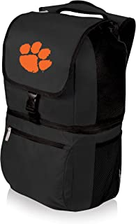 NCAA Clemson Tigers Zuma Insulated Cooler Backpack, Black