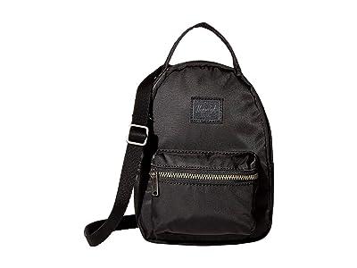 Herschel Supply Co. Nova Crossbody (Black) Handbags