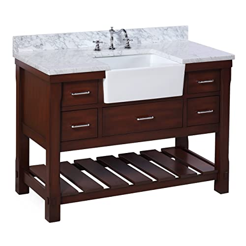 Farm Sink Vanity Amazon Com