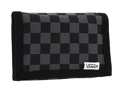 Vans Slipped Trifold Wallet (Black/Gunmetal) Bill-fold Wallet
