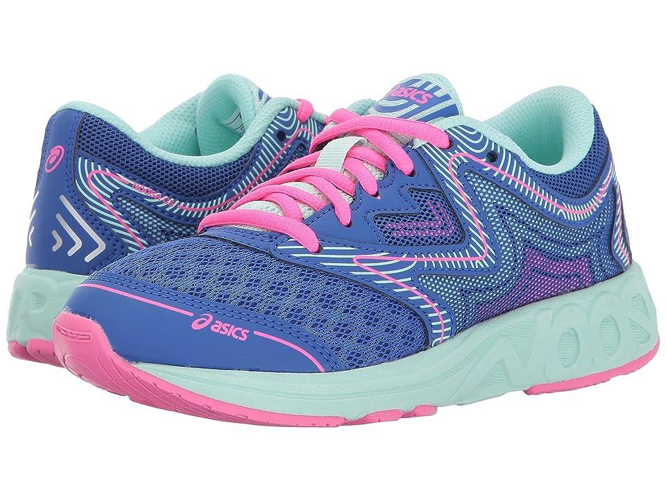 ASICS Kids Noosa GS (Little Kid/Big Kid) (Blue Purple/Glacier/Hot Pink) Girls Shoes
