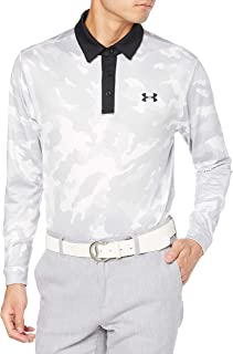 [アンダーアーマー] ポロシャツ UA Long Sleeve Playoff Polo 2.0 Camo メンズ