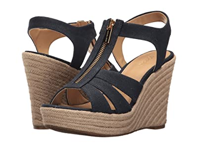 MICHAEL Michael Kors Berkley Wedge (Navy) Women