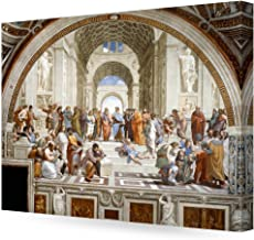DECORARTS – The School of Athens, Raphael Art Reproduction. Giclee Canvas Prints..