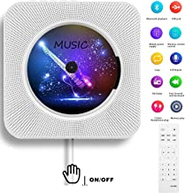 AONCO Portable CD Player, Bluetooth Wall Mountable CD Music Player Home Audio Boombox..