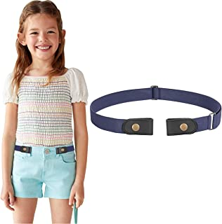 No Buckle Stretch Belt for Child Boys and Girls Buckle Free Kids Belt Up to 24 Inches