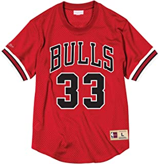 Mitchell & Ness NBA Chicago Bulls Scottie Pippen #33 Mesh Crewneck Jersey