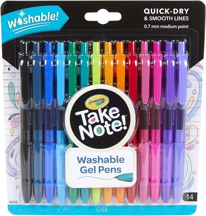 Crayola Take Note Colored Gel Pens