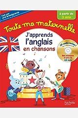 Toute Ma Maternelle J'apprends l'anglais + CD audio dès 3 ans Broché