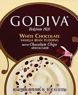 Godiva White Chocolate Vanilla Bean Pudding - 4.86oz, pack of 1