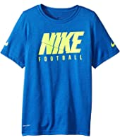 Nike Kids - Dry Football Tee (Little Kids/Big Kids)