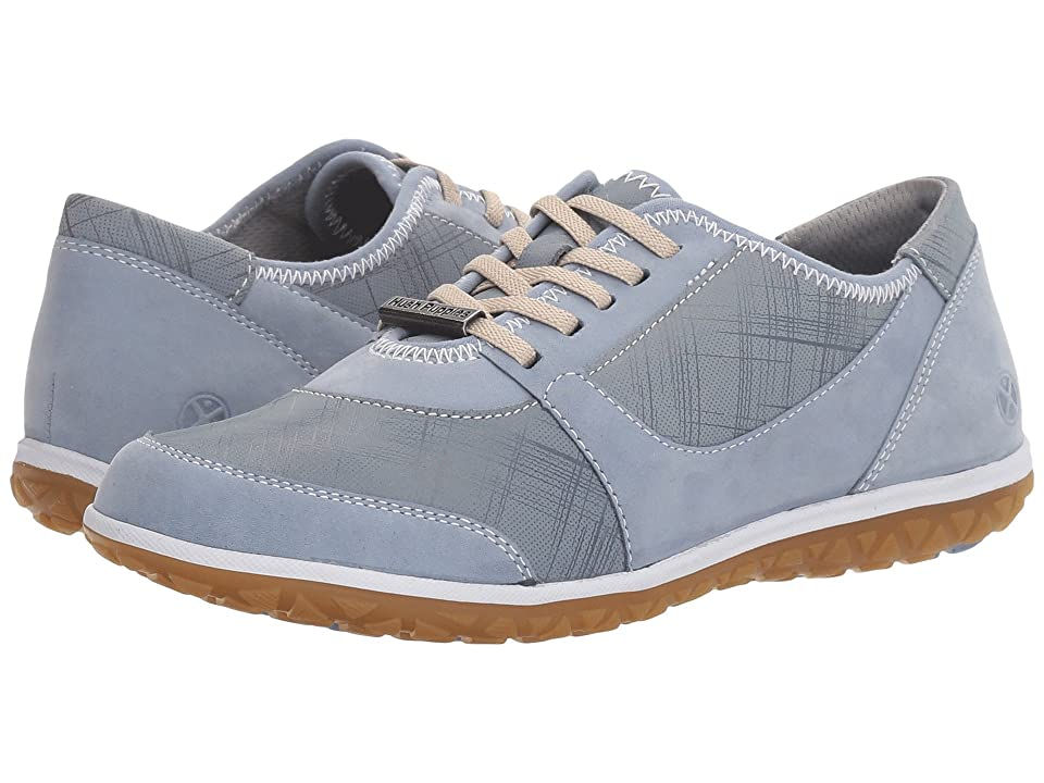 82454ee0ab4 Hush Puppies Basel Audra (Powder Blue Nubuck) Women s Shoes