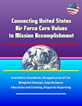 Connecting United States Air Force Core Values to Mission Accomplishment - Zero-Defect Standards, Misapplication of the Wingman Concept, Gaps Between Education and Training, Disparate Reporting