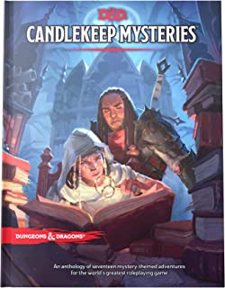 Dungeons and Dragons Candlekeep Mysteries (D&D Adventure Book - Dungeons & Dragons), white