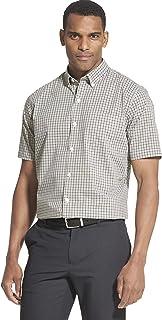 Men's Flex Short Sleeve Button Down Check Shirt