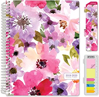 HARDCOVER Academic Planner 2019-2020: (July 2019 Through July 2020) 8.5