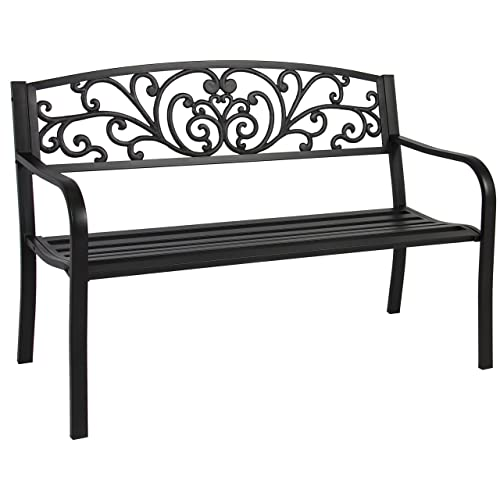 Stupendous Outdoor Garden Benches Amazon Com Gmtry Best Dining Table And Chair Ideas Images Gmtryco